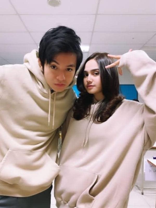Syifa Hadju dan Angga Yunanda (Sumber: Instagram/rizkysyifa.lovers)