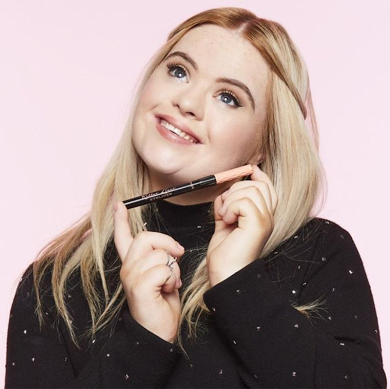Model with Down Syndrome lands beauty contract: Kate Grant (pictured) has been announced as a brand ambassador for Benefit Cosmetics.