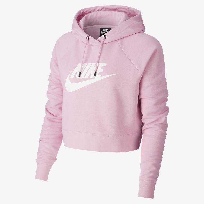 Essential Women's Cropped Hoodie. Image via Nike.