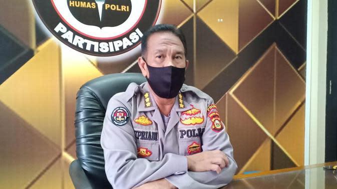 Kabid Humas Polda Sumsel Kombes Pol Supriadi mengatakan, pihaknya sudah menurunkan anggota kepolisian untuk mencari keberadaan pelaku penyerangan AD, salah satu anggota polisi di Palembang (Liputan6.com / Nefri Inge)