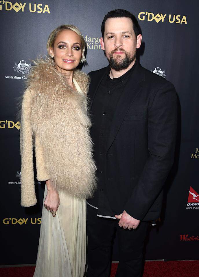 <p></p><p>Nicole began dating Good Charlotte rocker Joel Madden in 2007. The couple welcomed their first daughter Harlow in January 2008, before tying the knot in 2010.<br />Source: Getty </p><p></p>