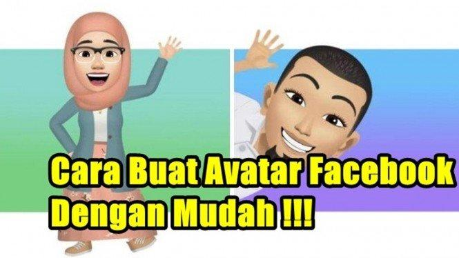 Sangat Mudah, Ternyata Begini Cara Pakai Avatar Facebook