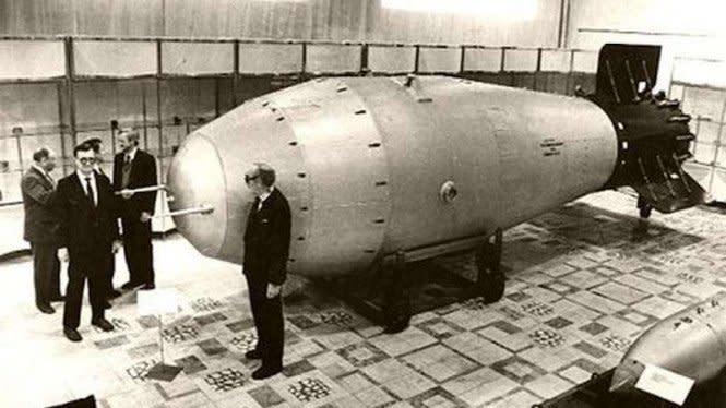 Dahsyatnya Tsar Bomba, Bom Nuklir Terkuat di Dunia Buatan Soviet