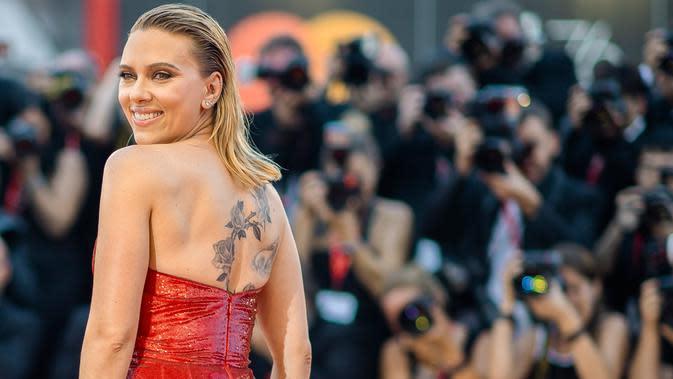 Scarlett Johansson. (Photo by Arthur Mola/Invision/AP)