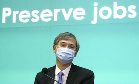 Secretary for Labour and Welfare Dr Law Chi-kwong says the new scheme will help about 40,000 casual workers. Photo: SCMP / Dickson Lee