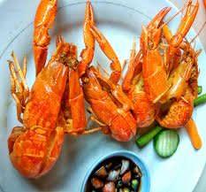 Salah Satu Masakan Lobster Air Tawar