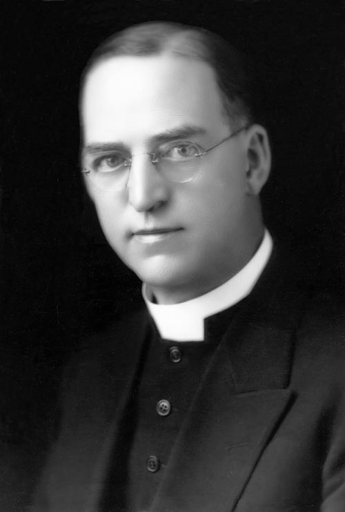 This undated photo provided by Boys Town shows Boys Town founder Father Edward Flanagan. Omaha Archbishop George Lucas has opened, Monday, Feb. 27, 2012, the cause for the beatification and canonization of Boys Town founder Father Edward Flanagan.(AP Photo/Boys Town)