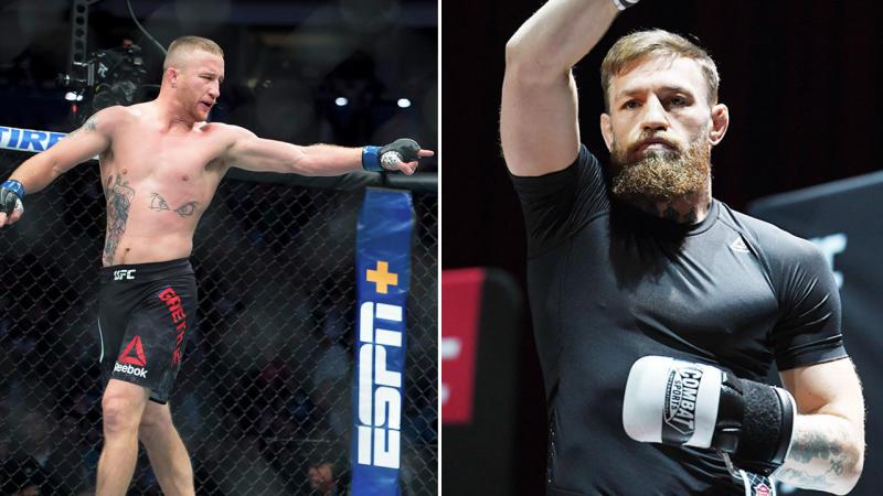 Justin Gaethje was dismissive of Conor McGregor after beating Donald Cerrone.