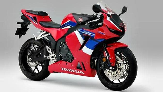 Honda CBR600RR Terbaru Tampak Segar dengan Sederet Ubahan