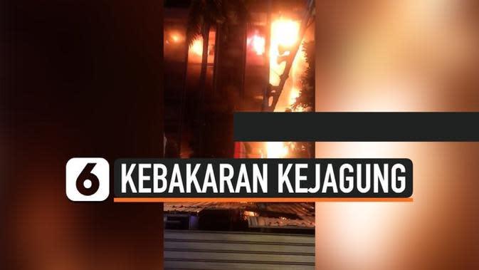 VIDEO: Gedung Kejagung RI Terbakar, Arsip-Arsip Kasus Ikut Hangus?