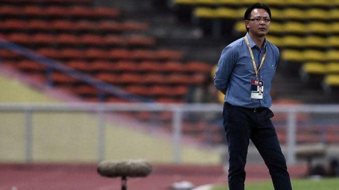 Pelatih Timnas Malaysia, Ong Kim Swee (Foto: AFP)