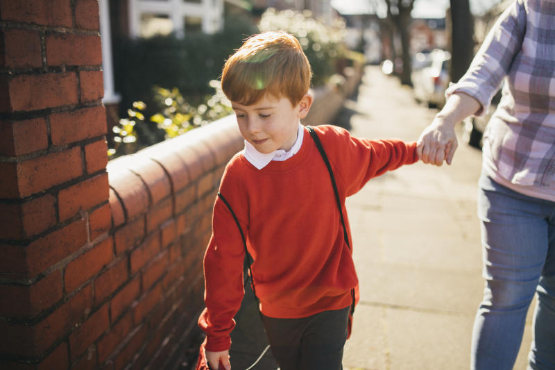 Some children in reception, year 1 and year 6 returned to school yesterday. (Getty Images)