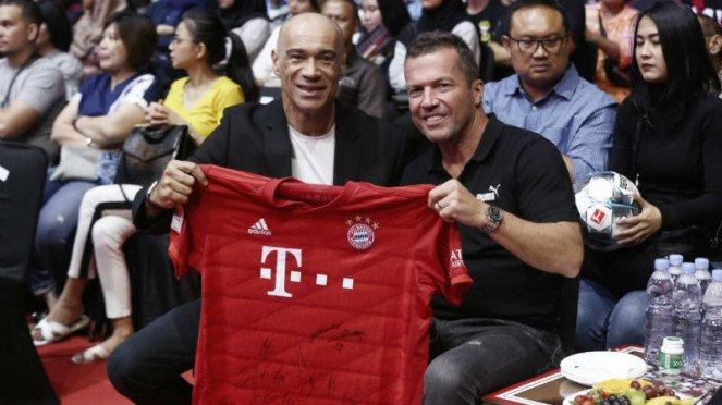 Legenda Timnas Jerman, Lothar Matthaeus, menonton One Pride