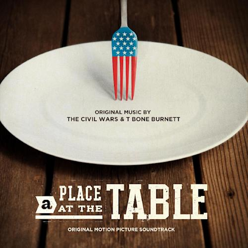 "This CD cover image released by Sensibility Music LLC shows ""A Place at the Table,"" the original motion picture soundtrack. (AP Photo/Sensibility Music LLC )"