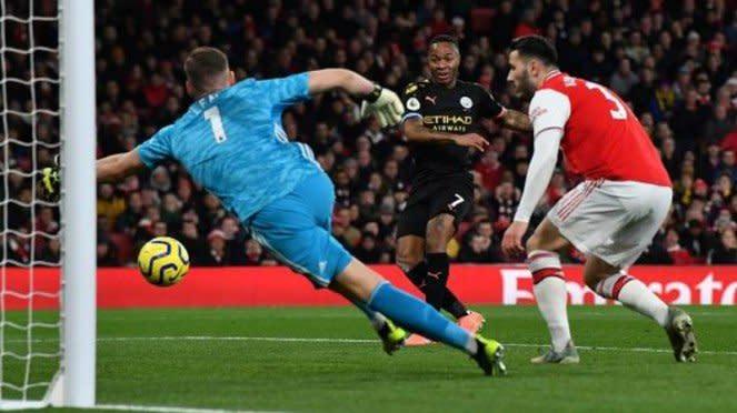Laga Premier League, Arsenal kontra Manchester City malam tadi