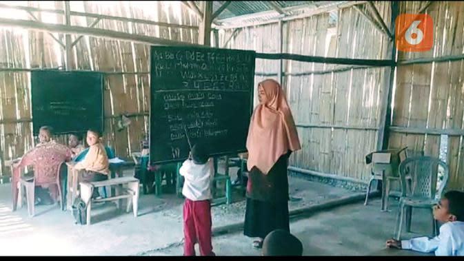 Kisah Bu Guru Ita dan 12 Siswa, Saling Menyemangati dalam Keterbatasan Fasilitas Belajar