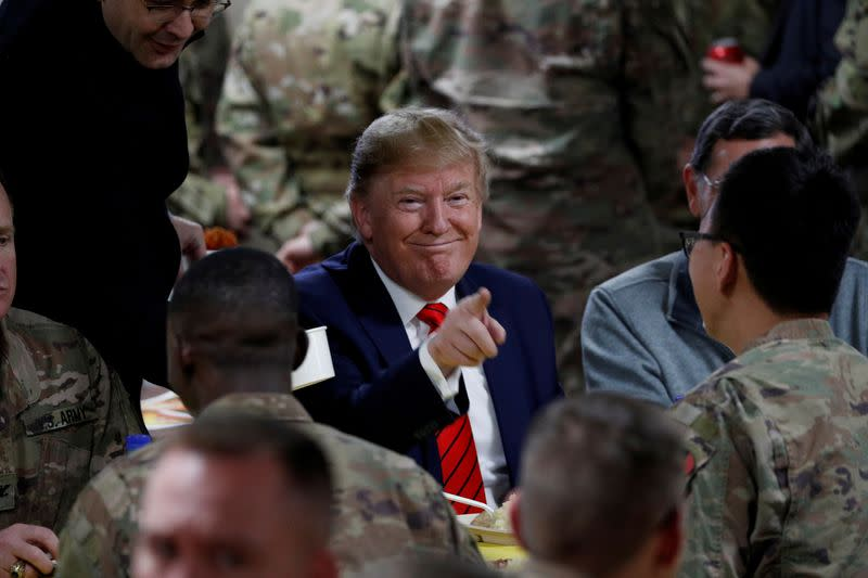 No phones, scripted tweets: How Trump's Afghanistan trip was kept under wraps