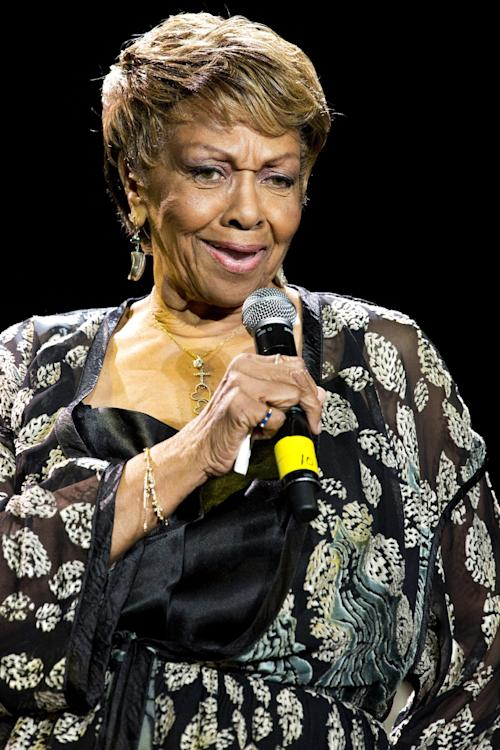 FILE - In this Saturday, May 12, 2012 file photo, Cissy Houston performs at Gospelfest in Newark, N.J. Whitney Houston's mother, Cissy Houston, will perform a tribute to her late daughter at the upcoming BET Awards on July 1, 2012, which will air live from the Shrine Auditorium in Los Angeles. (AP Photo/Charles Sykes, File)