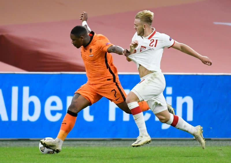 Bergwijn scores winner as Netherlands edge Poland