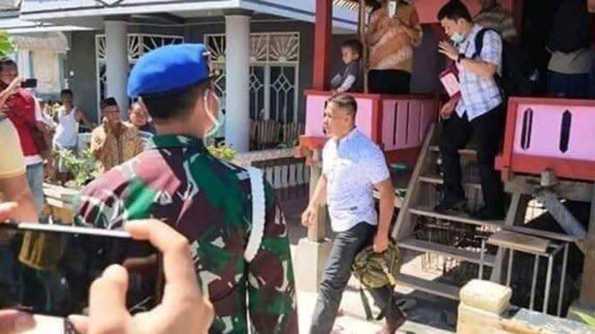 Ruslan Buton diamankan pasca minta Presiden Joko Widodo mundur.