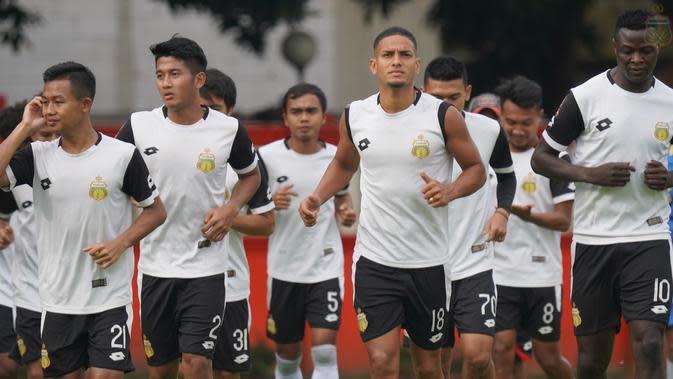Skuat Bhayangkara FC untuk Liga 1 2020. (Media Bhayangkara FC).