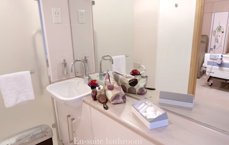 Deluxe suites with private bathrooms can cost over $11k. Photo: Lindo Wing