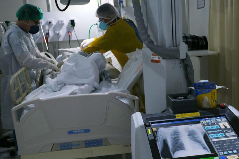 Brazil sees early signs coronavirus spread is slowing