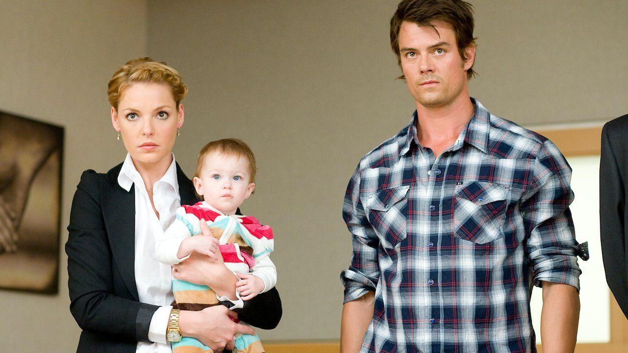 """<p>Remember when Katherine Heigl was the rom-com queen? Man, what a time. Starring alongside Josh Duhamel, the two become surprise parents after their couple-friends die in an accident (no, seriously, the movie is funny). The rest follows the duo as they try to coparent. Heigl is uptight. Duhamel is fun but irresponsible. You know the drill.</p><p><a class=""""body-btn-link"""" href=""""https://www.netflix.com/watch/70131764?trackId=250301663&tctx=0%2C0%2C19f0f323-7cf9-4ce2-9afe-1738f3b0e243-101322484%2Cf7a1b30e-4356-47dd-b656-6f14180f521d_6467821X19XX1584120660973%2Cf7a1b30e-4356-47dd-b656-6f14180f521d_ROOT"""" target=""""_blank"""">Watch Now</a></p>"""