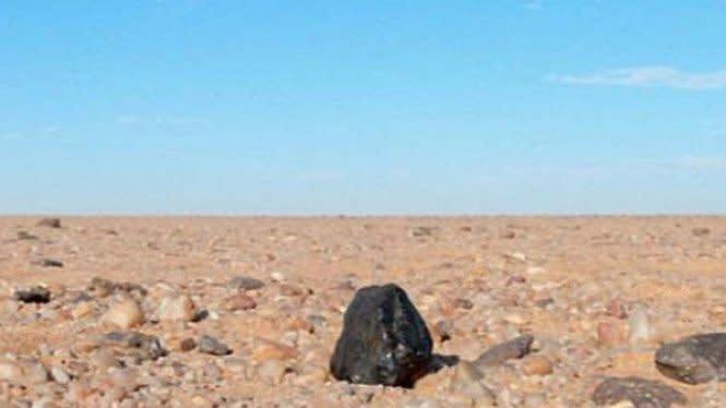 Kawah Meteorit Berusia 100 Juta Tahun Ditemukan