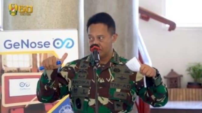 UGM Ungkap Temuan Alat Pendeteksi COVID-19 Baru ke Jenderal TNI Andika