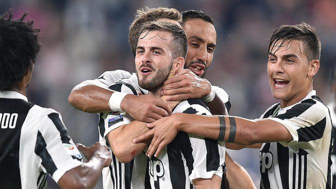 Juventus akan bertemu AC Milan di Coppa Italia (AP/Alessandro Di Marco)