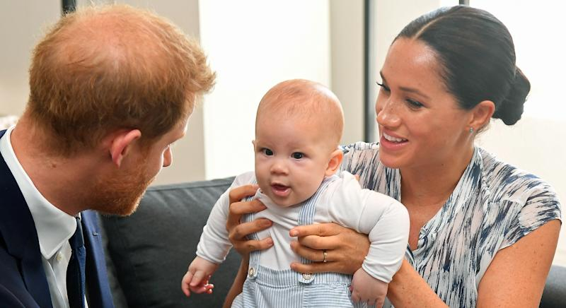 Prince Harry's childhood nanny is baby Archie's secret godmother [Image: Getty]