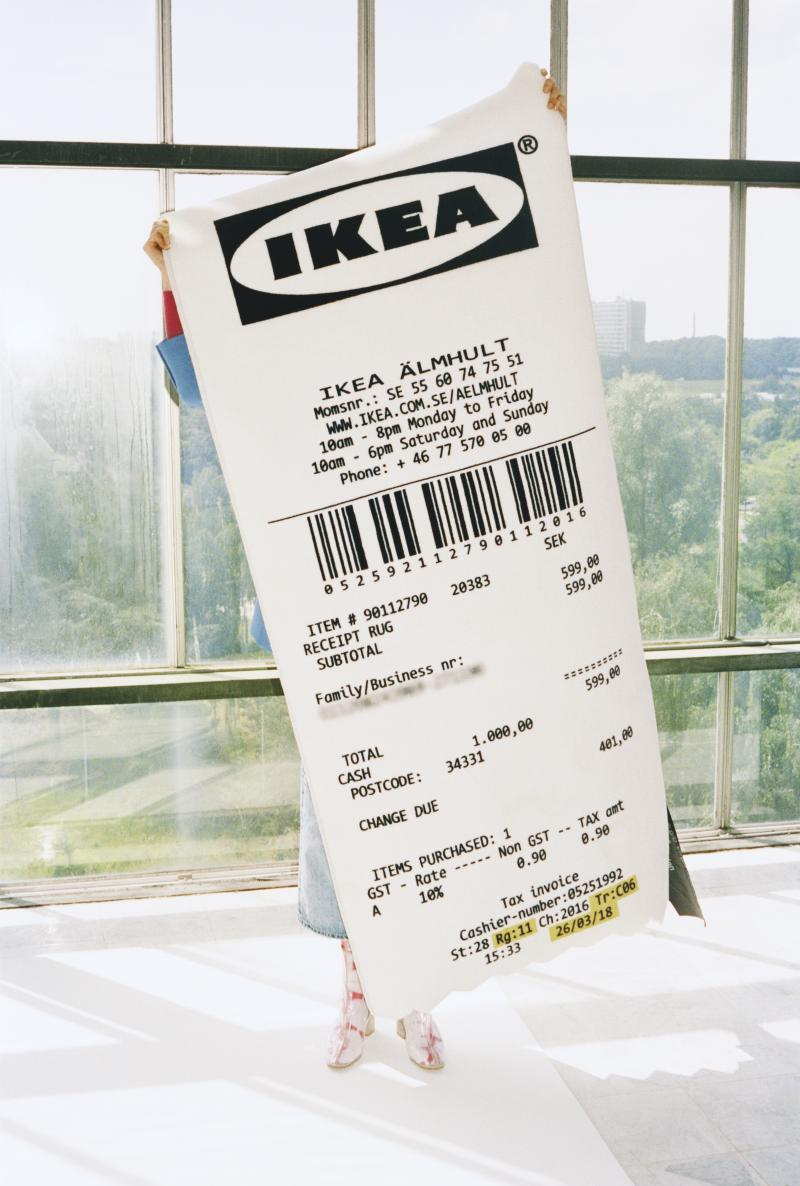 Virgil Abloh IKEA MARKERAD. Photo: IKEA.
