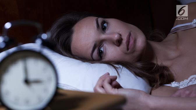 Ilustrasi Susah Tidur atau Sulit Tidur (iStockphoto)