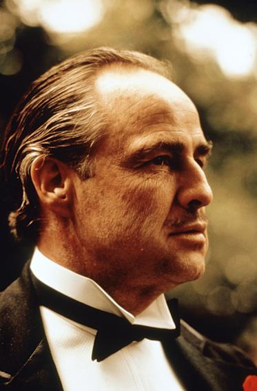 "FILE -  In this undated file photo provided by Paramount Pictures, Marlon Brando is shown in a scene from Paramount Pictures ""The Godfather,"" in this undated promotional photo. (AP Photo/Paramount Pictures, file)"