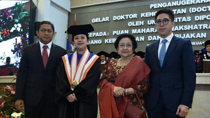 Tokoh - Tokoh Negara Hadiri Penganugerahan Doktor HC Puan Maharani