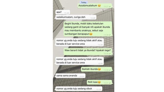 6 Chat Ibu Enggak Peka ke Anak Ini Bikin Geregetan (sumber: Twitter.com/oviazn)