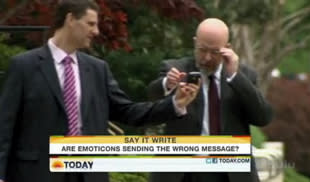 'The Today Show' Makes Fun of People Who Use Emoticons for 4 Entire Minutes :/