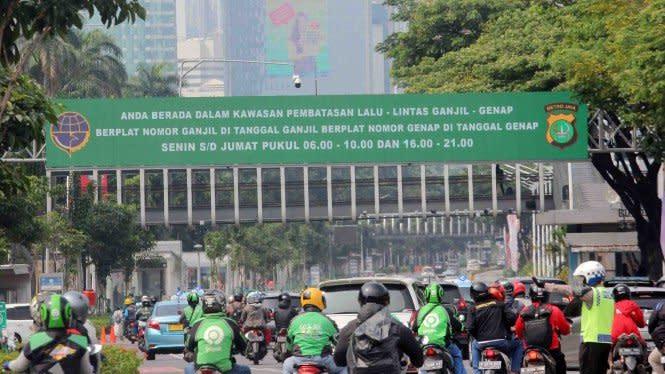 Aturan Ganjil-Genap Tak Berlaku Lagi Selama PSBB Total di Jakarta
