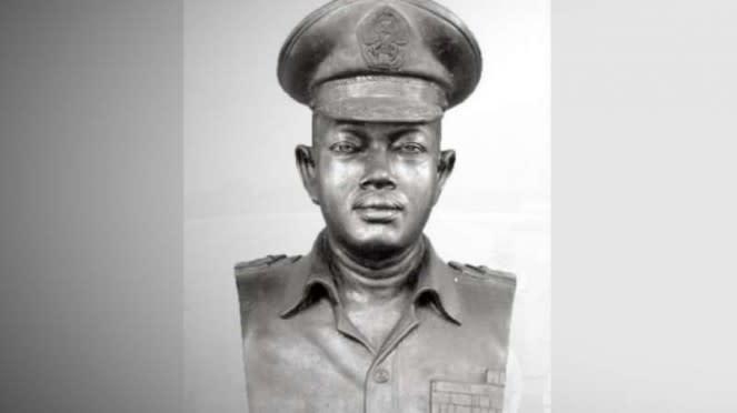 VIVA Militer: Patung dada Brigjen TNI (anumerta) Katamso.