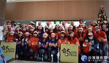 聖誕點燈關懷醫護 企業捐贈台大生醫園區分院口罩