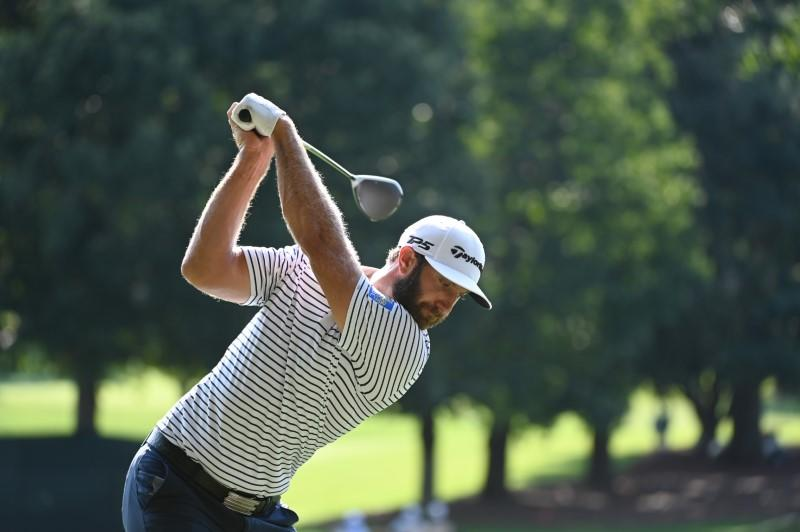 Johnson extends Tour Championship lead at East Lake