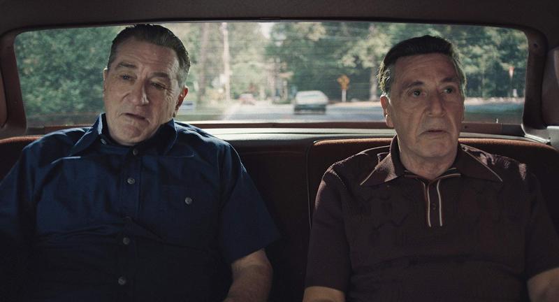 Robert DeNiro and Al Pacino in The Irishman