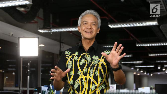 Gubernur Jawa Tengah, Ganjar Pranowo. (Liputan6.com / Fatkhur Rozaq)