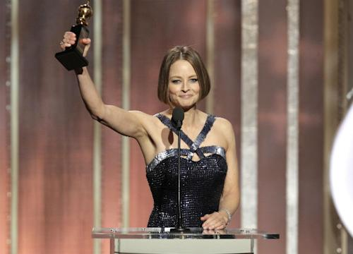 WATCH: Jodie Foster Wins The Golden Globes With Her 'Coming Out' Speech