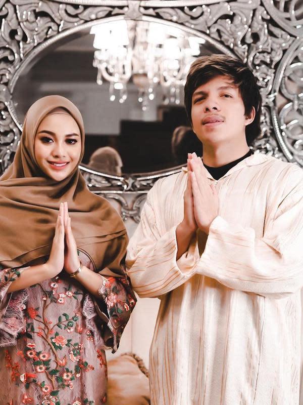 Atta Halilintar dan Aurel Hermansyah (Instagram/attahalilintar)