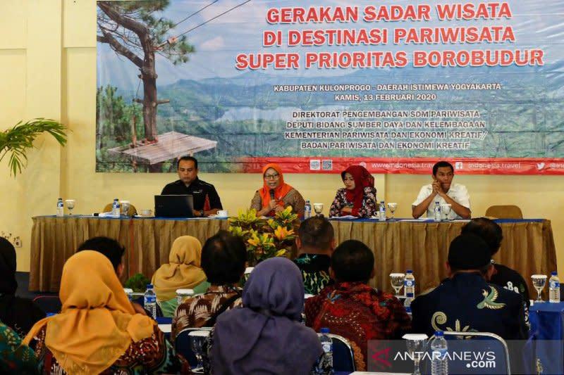 Kemenparekraf lakukan pengembangan masyarakat pariwisata Kulon Progo
