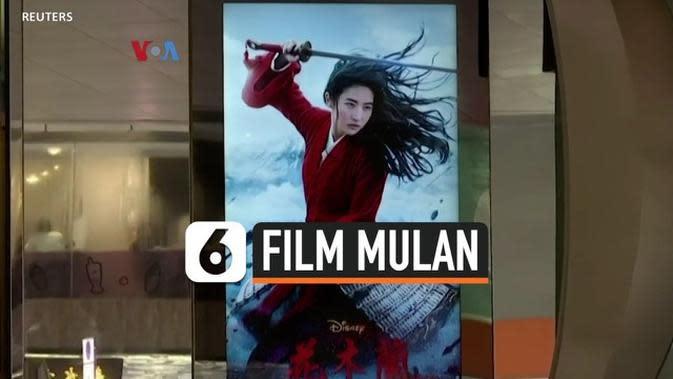 VIDEO: Peredaran Film Mulan Disambut Seruan Boikot