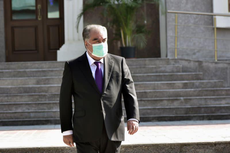 Veteran Tajik president on course for fifth term
