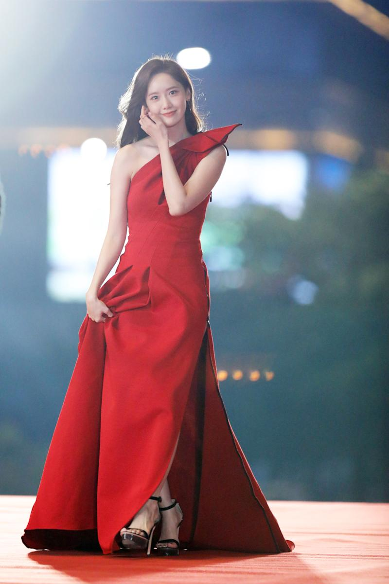 K-Pop darling Lim Yoona on the red carpet. — Picture from IFFAM